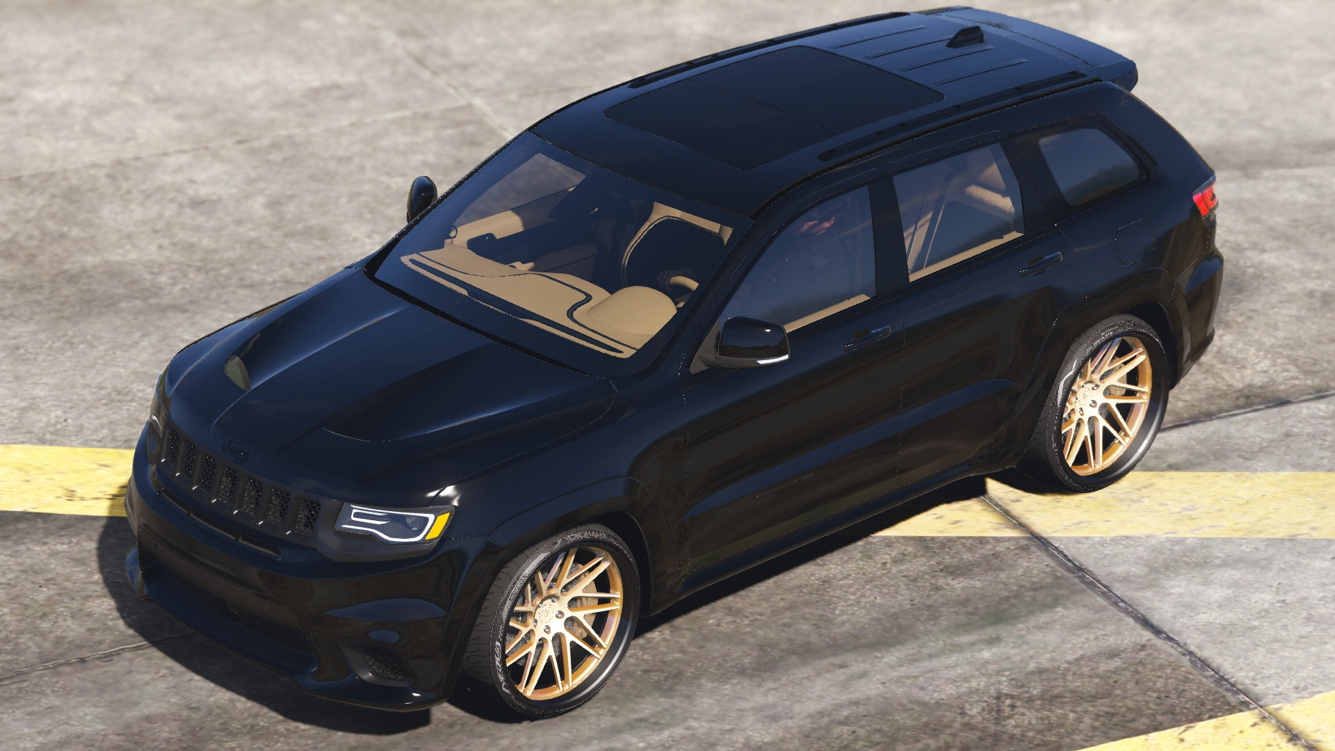 Trackhawk Jeep Grand Cherokee Srt8 Mod For Gta V Sgcarena